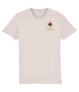 Not your Honey, Hun Embroidered T-shirt