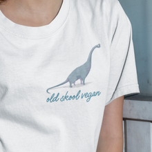 Load image into Gallery viewer, Old skool vegan t-shirt
