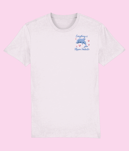 Flippin Fantastic Dolphin Embroidered T-shirt