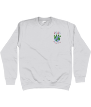 Load image into Gallery viewer, Peas on Earth Embroidered Apparel