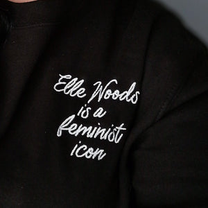 Elle Woods is a Feminist Icon Jumper UK