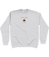 Load image into Gallery viewer, Always smile at bees embroidered jumper