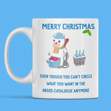Load image into Gallery viewer, Mr Frosty Christmas Mug