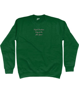Forget 2020 Christmas Embroidered Jumper