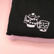 Load image into Gallery viewer, Embroidered Kettle & Tea Jumper