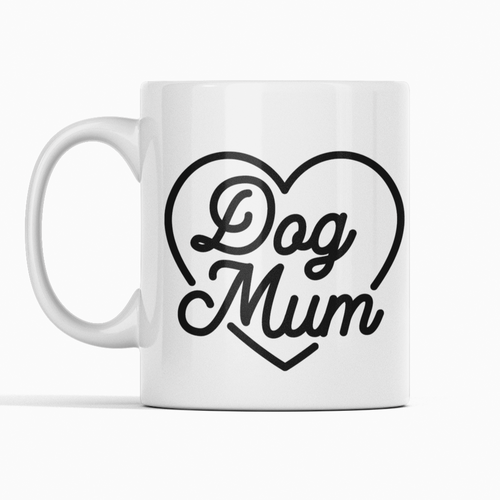 Dog Mum uk mug