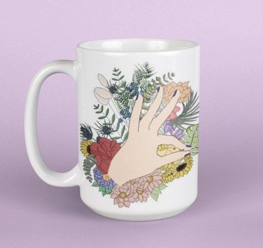 Sign Language Tea Mug