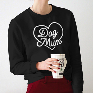 Dog Mum jumper UK from Tea Please