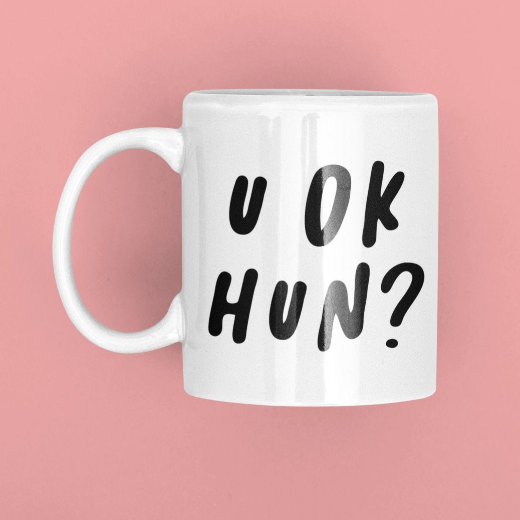 you ok hun? coffee mug by tea please