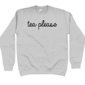 Grey Tea Please Jumper