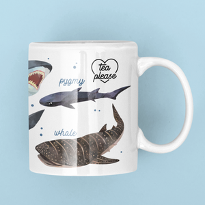 Shark Mugs UK Tea Please