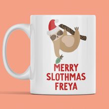 Load image into Gallery viewer, Merry Slothmas Mug