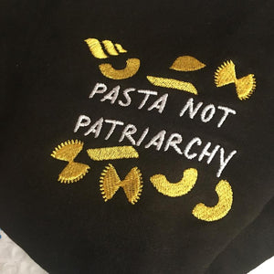 Embroidered Creator Pasta not Patriarchy T-shirt