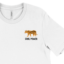 Load image into Gallery viewer, Girl Power Tiger T-shirt