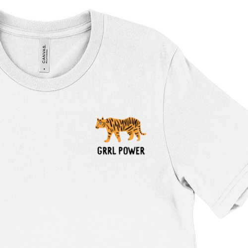 Girl Power Tiger T-shirt