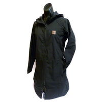 Women's Black Hooded Coat [LIMITED AVAILABILITY]