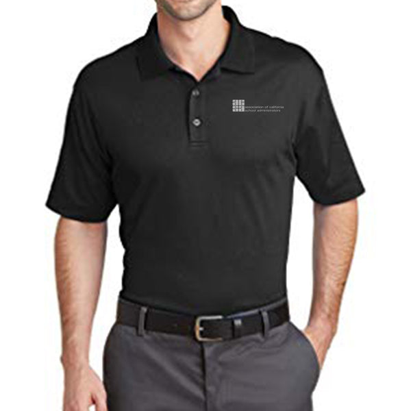 Rapid Dry(TM) Mesh Polo Shirt, Black