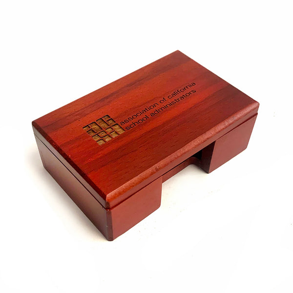 Business Card Case, Rosewood