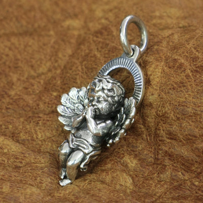 Charms Cupid Jewelry 925 Sterling Silver Pendant