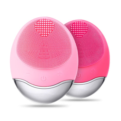 Ultrasonic Electric Vibration Facial Cleansing Brush