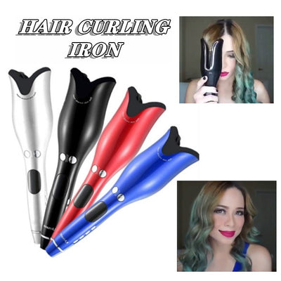 Automatic Ionic Hair Curling Iron
