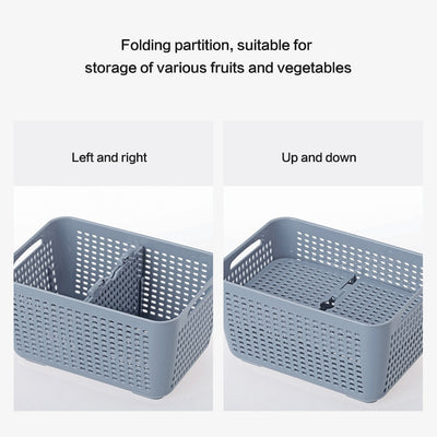 Fresh Drainage Box Food Saver Containers With Lids For Kitchen Storage