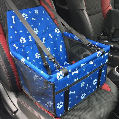 Double Thick Waterproof Cat Dog Travel Bags Folding Pet Car Seat