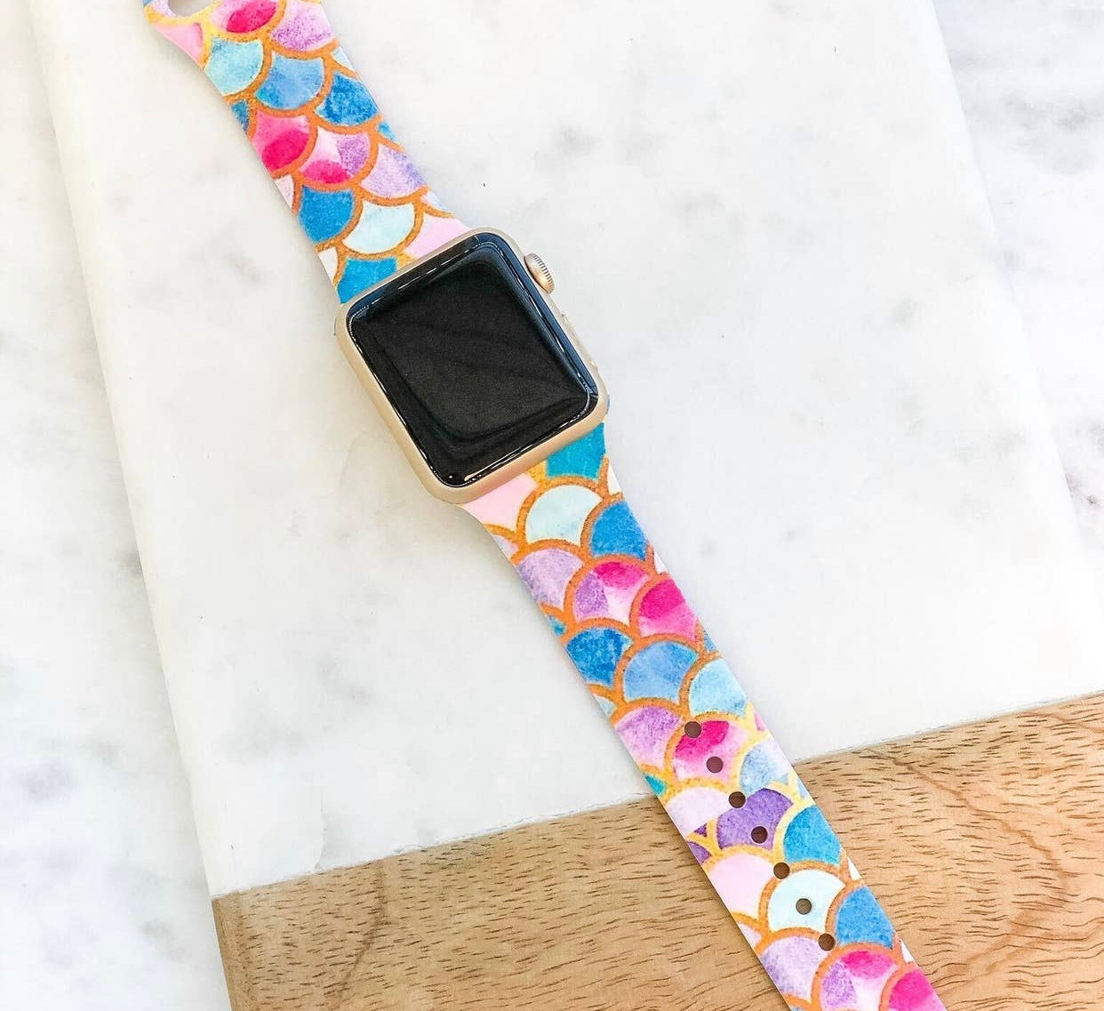 Mermaid Scales Silicone Band