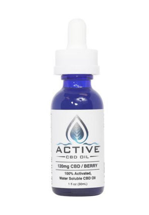 120mg To 900mg CBD Oil Tincture - Water Soluble