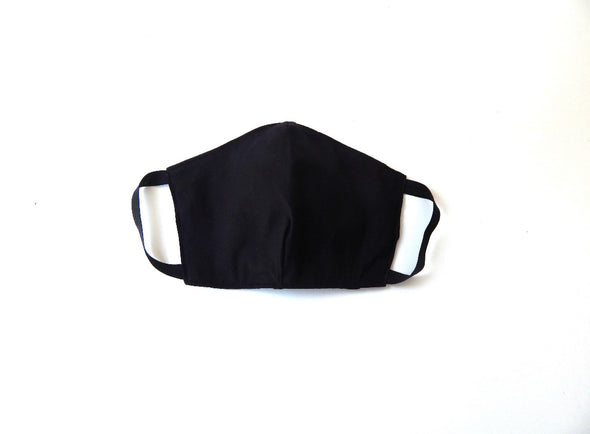 Double layered face mask with pocket for extra filter