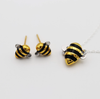 Limited Edition Gold & Silver Bumble Bee Earrings