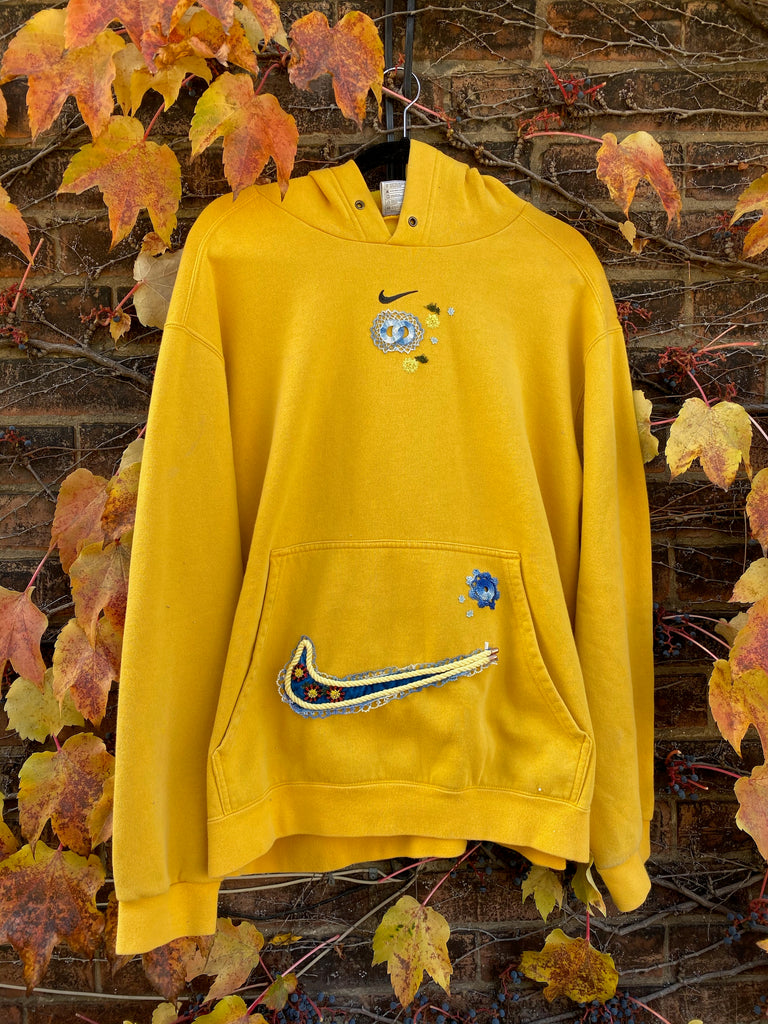 Mini Swoosh (Yellow/Blue)