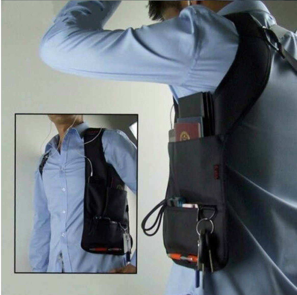 The Stealth Anti-Theft Bag