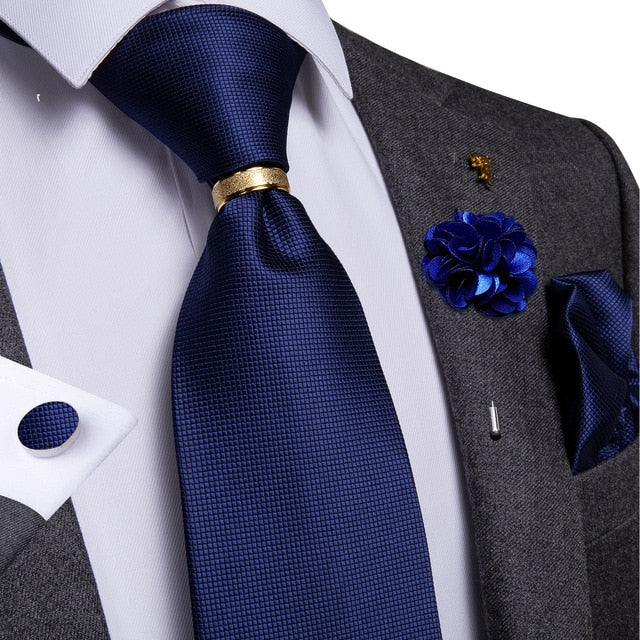 Gentlemen's 6PC Silk Tie Set