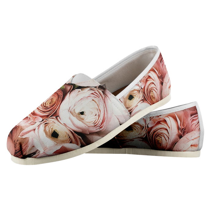 Shoe of Roses (Women's Casual Shoe)