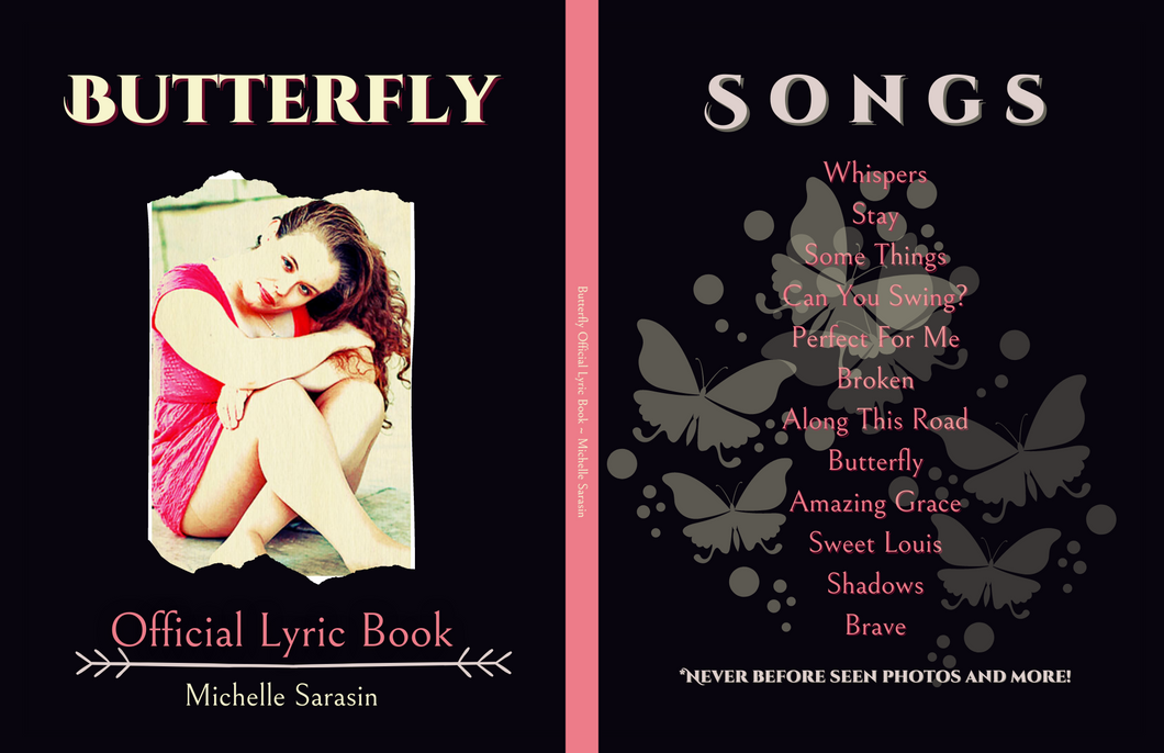 Butterfly (Paperback) Official Lyric Book