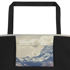 White Mountain Tote Bag
