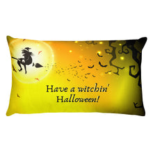 Load image into Gallery viewer, Witchin' Halloween Pillow
