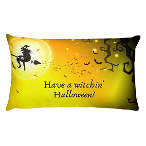 Witchin' Halloween Pillow