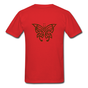 Butterfly Tribe Men's T-Shirt - red