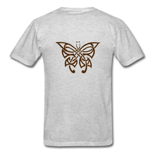 Load image into Gallery viewer, Butterfly Tribe Men's T-Shirt - heather gray