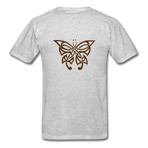 Butterfly Tribe Men's T-Shirt - heather gray