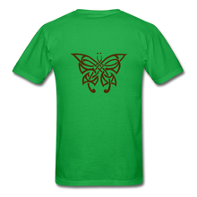 Load image into Gallery viewer, Butterfly Tribe Men's T-Shirt - bright green
