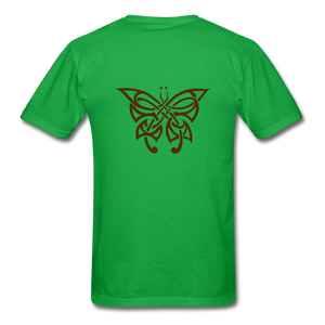 Butterfly Tribe Men's T-Shirt - bright green