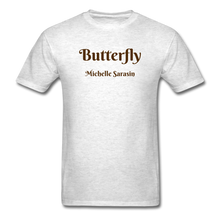 Load image into Gallery viewer, Butterfly Tribe Men's T-Shirt - light heather gray