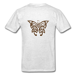 Butterfly Tribe Men's T-Shirt - light heather gray