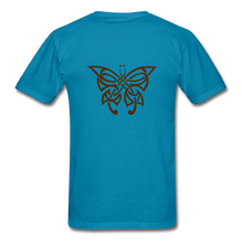 Load image into Gallery viewer, Butterfly Tribe Men's T-Shirt - turquoise