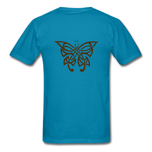 Butterfly Tribe Men's T-Shirt - turquoise