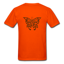Load image into Gallery viewer, Butterfly Tribe Men's T-Shirt - orange