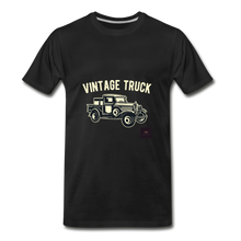 Load image into Gallery viewer, Vintage Mobile T-Shirt - black